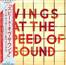WINGS-WINGS AT THE SPEED OF SOUND-IMPORT LP WITH JAPAN OBI Ltd/Ed J50