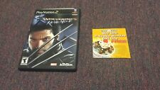 X2 Wolverine's Revenge  PS2   ( Includes hard to find Baskin Robbins offer)