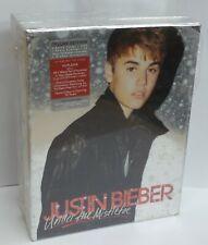 Justin Bieber Under The Mistletoe CD + DVD + Photo Deluxe Edition Box Set