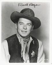 RONALD REAGAN Signed 10x8 Photo PRESIDENT Of The USA 1981-1989 COA