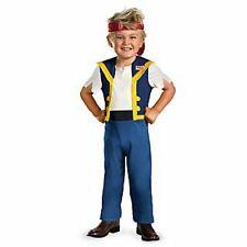 Disney Jake Never Land Pirates JAKE Costume size 3-4 T New 3-4 Toddler