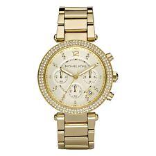 Michael Kors mujer Parker Mk5354 oro acero inoxidable reloj