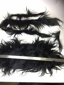 Long Goat Hair Fur Remnant Scraps For Dolls Hair, Wigs Trimmings