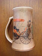 1893 Duryea Antique Car Mug - Vintage - Tankard Shape - Made in USA