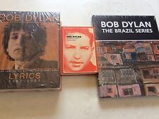 Bob Dylan [3 Bücher] Lyrics 1962-2001 +The Brazil Series (Elderfield)+ Biografie