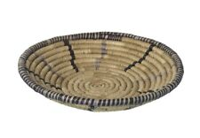 Boho Style Woven Seagrass Table Bowl Container Pastry Bread Picnic Food Basket
