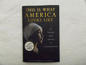 This Is What America Looks Like  SIGNED by Ilhan Omar  first edition hardcover