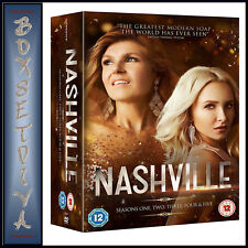 NASHVILLE - COMPLETE SEASONS 1 2 3 4 & 5  *BRAND NEW DVD BOXSET***