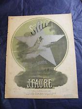 Partition Stella Valse Légende J Faure  Music Sheet Grand Format
