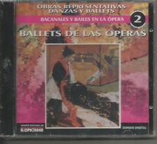 BALLETS - DE LAS OPERAS 2 - ORQUESTA FESTIVAL DE PRAGA - JOHANN MERTZ!!! NR!!!