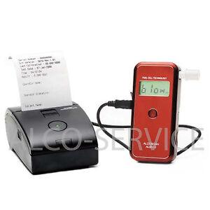 ETILOMETRO PROFESSIONALE AL9010 - Sensore Elettrochimico, Stampante, Memoria