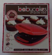 Babycakes Cupcake Maker - Bakes 8 Mini Cupcakes in 5-8 minutes - CC-2828RD