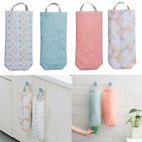 Kitchen Organizers Plastic Storage Dispenser Home Grocery Bag Holder Wall Mount