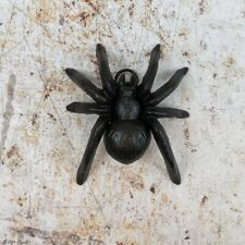 Spider Figure Cast Iron Wall Mounted or Freestanding Metal Ornament
