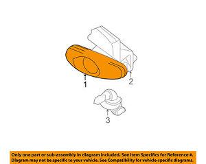 Oldsmobile GM OEM 99-04 Alero-Fog Light-Fog Lamp Left 22621094