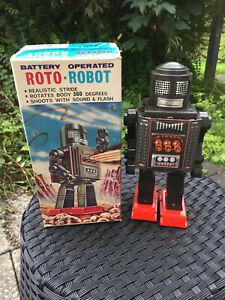 Roto Robot Roboter von Horikawa aus Japan 60er Jahre