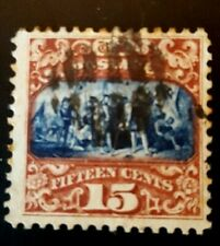 Us stamps 19th century used scott 119 PO fresh XF HR sound