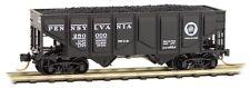 Pennsylvania 33' Panel Side Twin Bay Hopper w/Coal Load MTL# 085 00 080 N-Scale