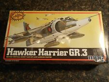 MPC/Airfix 1/72 vintage 1982 model kit Hawker Harrier GR.3 1-4208 sealed!