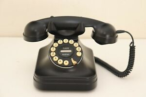Vintage 1930's Style Pottery Barn Grand Office Push Button Telephone