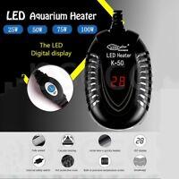 New Aquarium Fish Tank LED Digital Heater Submersible Thermostat US Plug