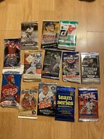 LOT OF UNOPENED BASEBALL Packs Sealed Baseball pack Lot Vintage Packs New Packs