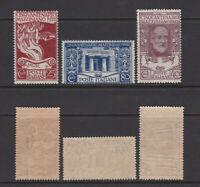 ITALY 1922 Mazzini Mint **  Sc.140-142 (Sa.128/130)