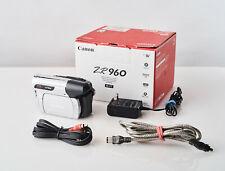 Canon Zr960 Camcorder Mini Dv Stereo Camera Vcr Player Video Transfer Tested