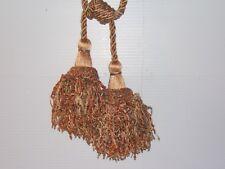 "Kravet ""Mardi Gras"" drapery tieback, adjustable cord, double tassel various cls"