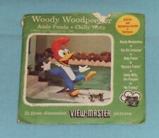 vintage WOODY WOODPECKER/ ANDY PANDA/ CHILLY WILLY VIEW-MASTER REELS packet