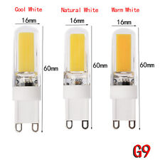 Dimmable G4 G9 9W Silicone Crystal LED Corn Bulb SpotLight White Lamp 110V 220V