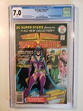 DC Super-Stars #17 - CGC 7.0  origin Huntress; Earth II Batman Catwoman marry