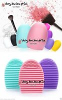 New Makeup Brush Cleaner Cosmetic Cleaning Silicone Egg Scruber Foundation Glove