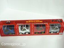 Choro Q TAKARA SKYLINE 25GT TURBO Limited 4 Cars Special Set Pull Back Rare F/S