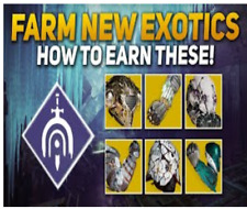 Beyond Light - Guaranteed drop Exotic armor pieces - Lost sectors [ PS4  XBOX ]