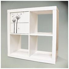 Möbelsticker für IKEA KALLAX Regal 32,6x32,6cm Dekofolie Pusteblume 2 Aufkleber