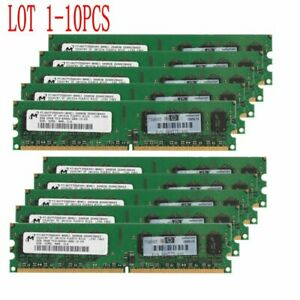 16GB 8GB 4GB 2G DDR2 800Mhz PC2-6400 240Pin DIMM Desktop Memory SDRAM Micron LOT