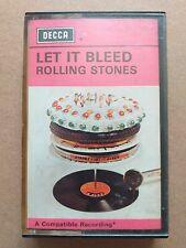 The Rolling Stones - Let It Bleed original 1969 Decca Cassette