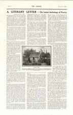 1919 Summerhouse Cowper Olney For Sale £300 Captain Brooksbank Lt Pim