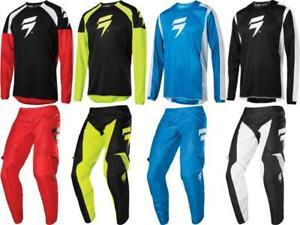Shift MX Racing Whit3 Label Race Jersey & Pant Combo Set Motocross ATV/MTB 2020