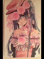Black Butler Japan Kuroshitsuji Anime Collectable Ciel RARE Print /  Card