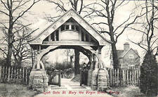 Great Warley near Brentwood. St Mary Virgin Lych Gate # 1897 by Charles Martin.