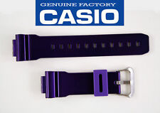 Genuine Casio G-Shock  Watch Band STRAP PURPLE DW-6900CC-6V RUBBER RESIN