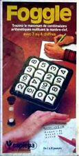 Jeu de société Foggle - Le Boggle des chiffres - Capiepa - 1978