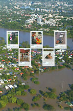 10 x 2011 Premiers Flood Relief Appeal Sheet only in Year Books unmounted mint.