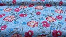 Garden Floral Painting 5 oz Belgium Linen Fabric NEW Marc Wear Hot Cotton