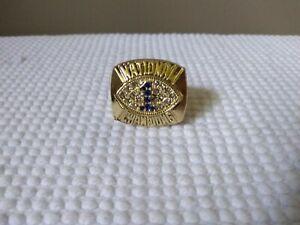 1986 Penn State Nittany Lions Championship Display Fan Ring sz 12