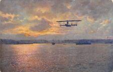 2813) WW1 AVIAZIONE AUSTRIA, WELTKRIEG  1914/16 FLIEGER BEI GORZ.