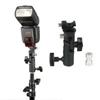 Adjustable Camera Flash Holder Bracket Holder Light Stand Flash Stand for Tripod