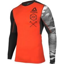 REEBOK PERFORMANCE ACTIVCHILL COMPRESSION BASELAYER SHIRT TOP